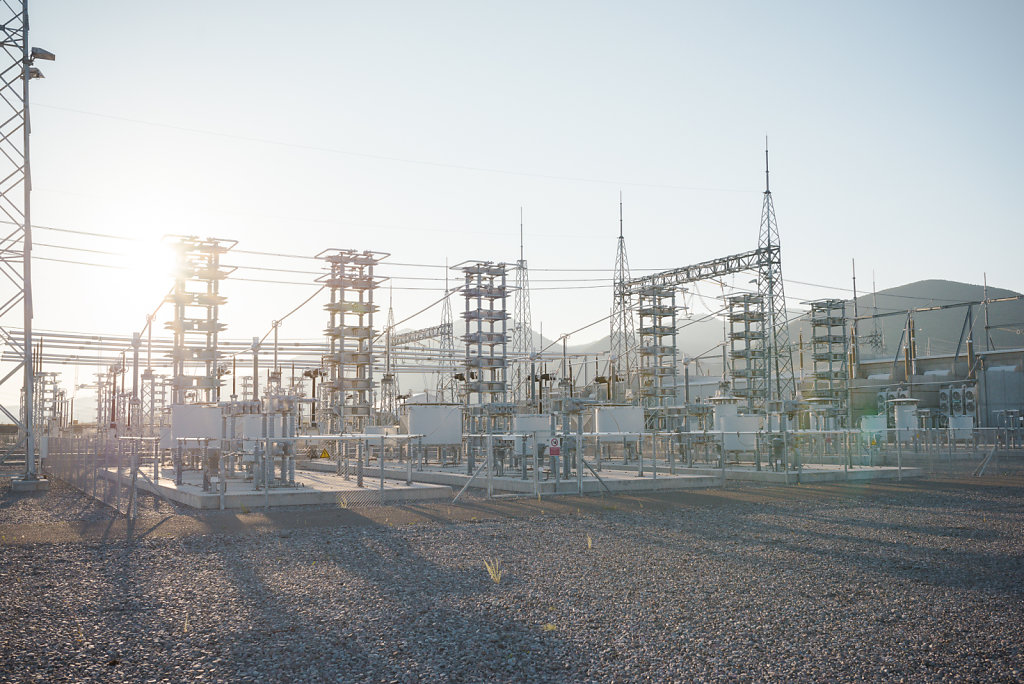SIEMENS HVDC Coverter Station